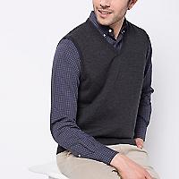 Sweater Sin Mangas En V