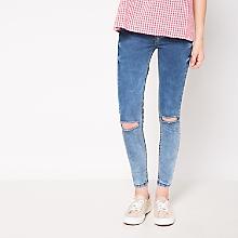 Jeans Detalle en Rodillas