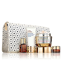 Set Tratamiento de Piel Global Anti-Aging Crema Revitalizing Supreme+ 50 ML, Suero Advanced Night Repair 15 ML, Advanced Night Repair Ojos 5 ML, Limpiador en Espuma Advanced Night 30 ML