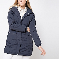 Parka Impermeable con Capucha