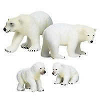 Figura Polarbearfamily