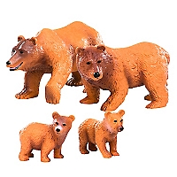 Figura Brownbearfamily