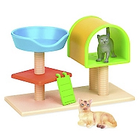 Figura Cats House Basket