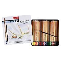 Lápices Acuarelables 24 Colores