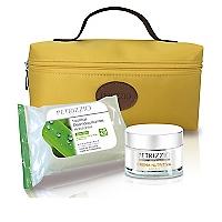 Set Crema Nutritiva Argán 50 ML + Cosmetiquero + Toallitas Desmaquillantes Hidratantes