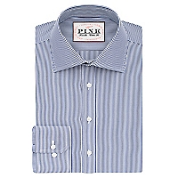 Camisa Regular Fit Cuello Semi Italiano