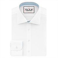 Camisa Slim Fit Cuello Semi Italiano