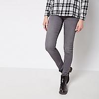 Jeans Skinny Tiro Medio