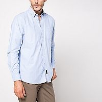 Camisa Manga Larga Oxford