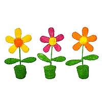 Pack 3 Flores YF-308-2