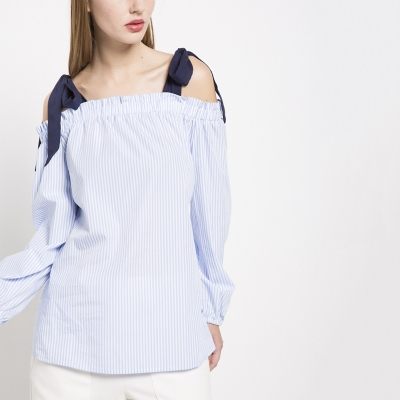 Blusa Lazo en Cintura