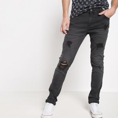 Jeans Súper Skinny Ultra Stretch Destroyed
