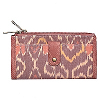 Billetera Warm Ikat