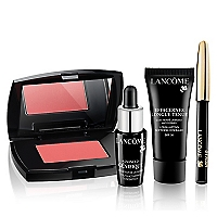 Set Maquillaje Make Up Advanced Genifique 7 ML +  Effacernes 2 + Crayon Khol Noir + Mini Blush Subtil
