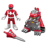 Figura Power Ranger Roja