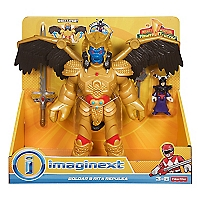 Figura Power Ranger Dorado
