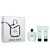 Set Perfume Acqua de Gioia EDP 100 ML + Shower Gel 75 ML + Body Lotion 75 ML
