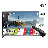LED 43 43UJ6510 4K Ultra HD Smart TV