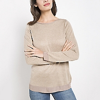 Sweater Liso de Punto Fino