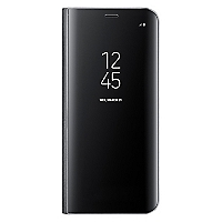 S8 Clear View Cover Negro