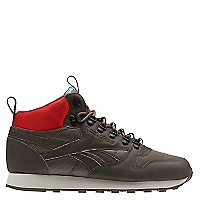Zapatilla Running Hombre Leather Mid Bc