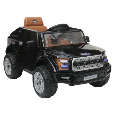Camioneta a Batería Off Road Negra