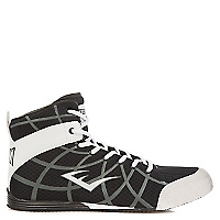 Grid Low Top Boxing Shoes Negro