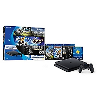 Consola PS4 500GB + 3 juegos + tarjeta Play Station Plus (3 meses)