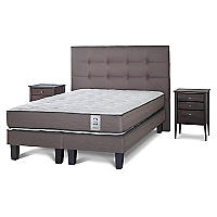 Cama Europea New Style 2 King BD + Muebles Issey