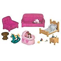Set Sala de estar y Pieza del Bebé