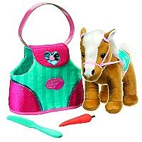 Pony con Bolso a Rayas