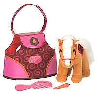 Pony con Bolso Swirl