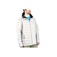Chaqueta Pluma Outline Charcoal