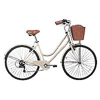 Bicicleta Aro 26 City Beige