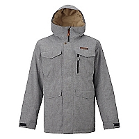 Parka Mb Covert Jacket Bog Heather