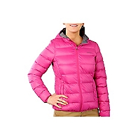 Chaqueta Pluma Short Pk With Hood
