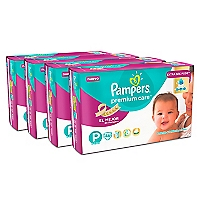 Pack 184 pañaes Premium Care PEQ