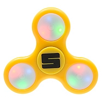 Fidget Spinner Led Amarillo