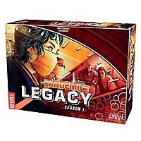 Pandemic Legacy 1a Temporada Rojo
