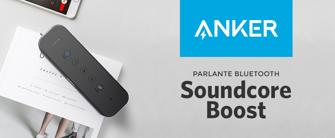 Parlante Bluetooth Soundcore Boost