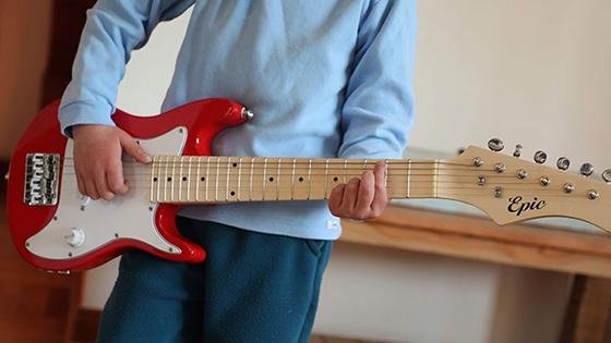 guitarra electrica niño