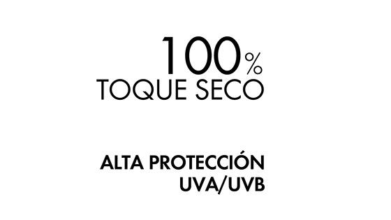 textura de agua de protección solar