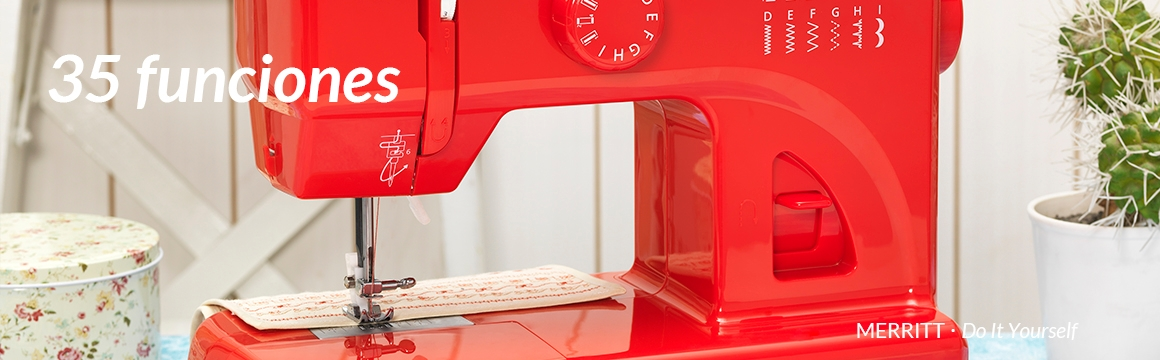 Máquina de coser, ME6, Merritt