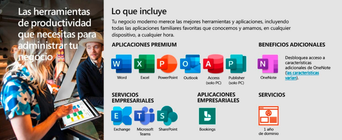 Microsoft 365 Empresa Estandár