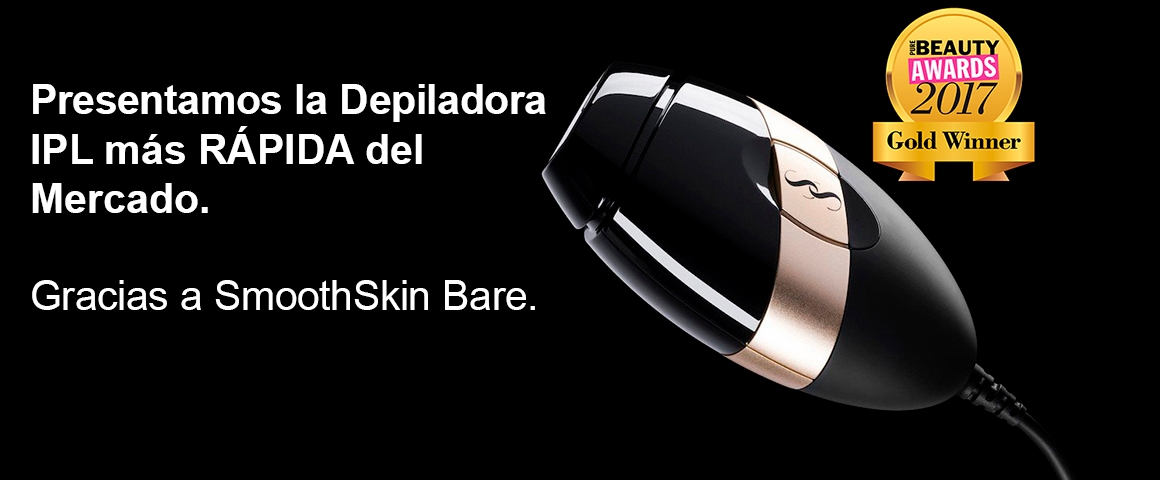 SmoothSkin Depiladora de Luz Pulsada IPL Bare CA00-1409