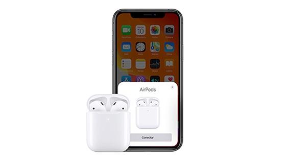 Airpods y celular