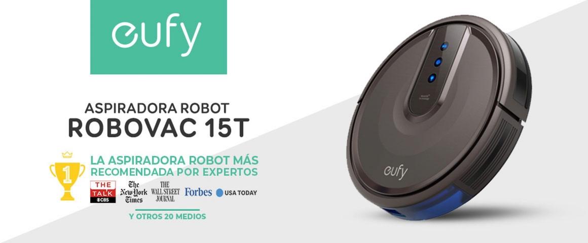 Aspiradora Robot Inteligente Robovac 15T