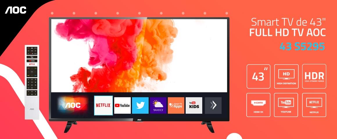 43S5295 LED FHD SMART TV AOC