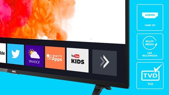 TVD USB Multimedia HDMI FHD
