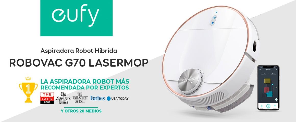 Aspiradora Robot Inteligente RoboVac L70 Híbrida